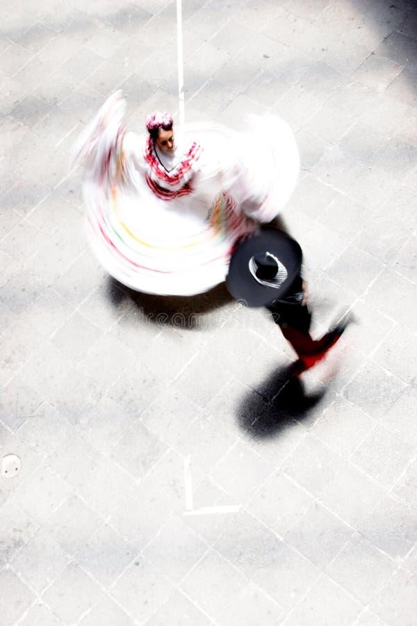 Dança de México fotografia de stock royalty free