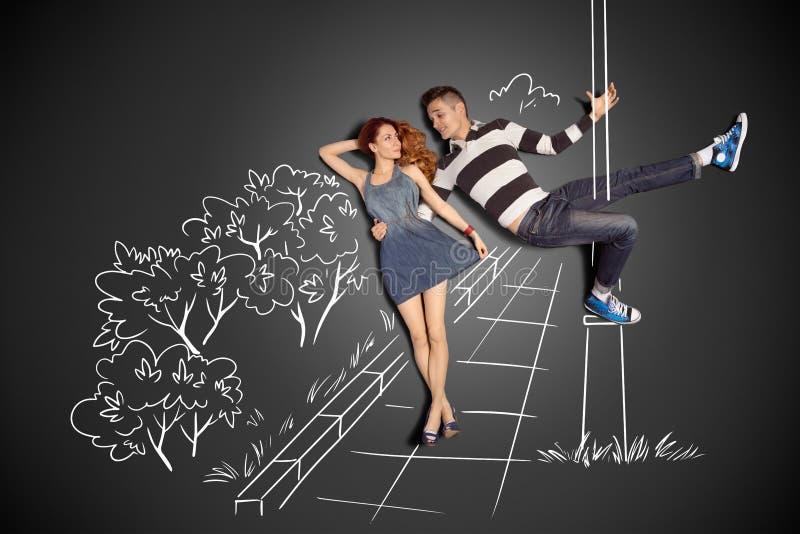 Dança de Polo ilustração royalty free
