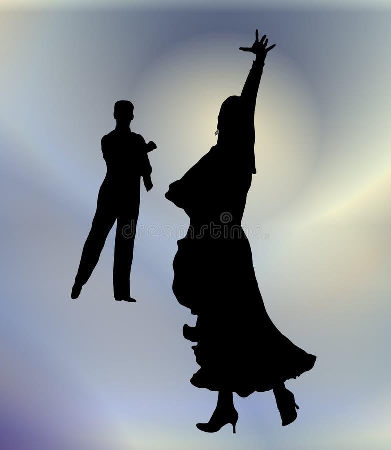 Dança de salão de baile 2 fotos de stock royalty free