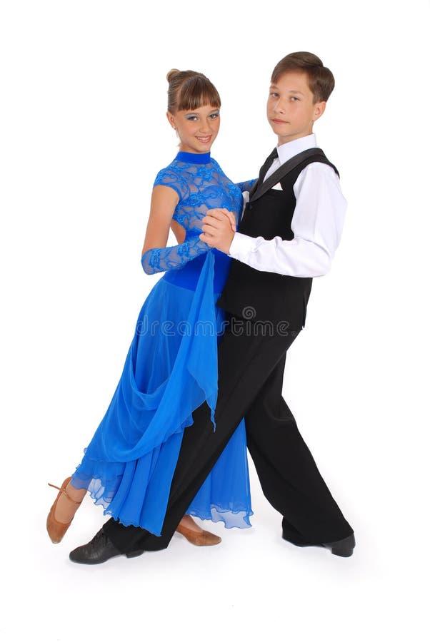 Download Dança De Salão De Baile Da Dança Do Menino E Da Menina Foto de Stock - Imagem de posing, novo: 10055996
