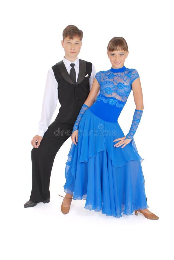 Download Dança De Salão De Baile Da Dança Do Menino E Da Menina Imagem de Stock - Imagem de paixão, salsa: 10066043