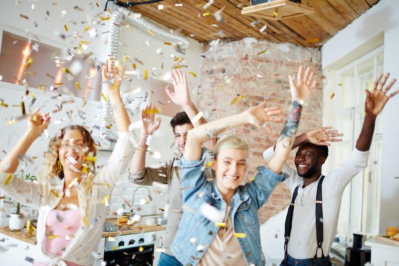 Dança de sexta-feira fotos de stock