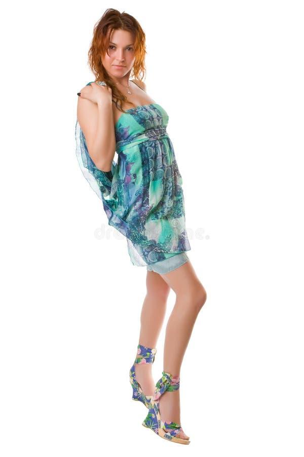 Dança de turquesa fotos de stock