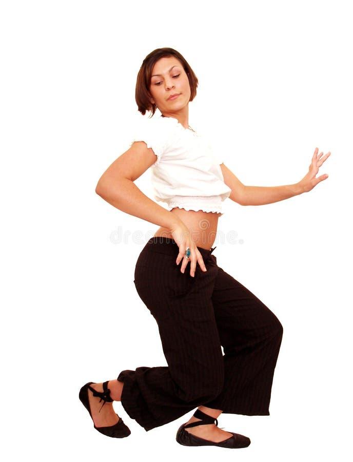 Dança do adolescente fotografia de stock royalty free