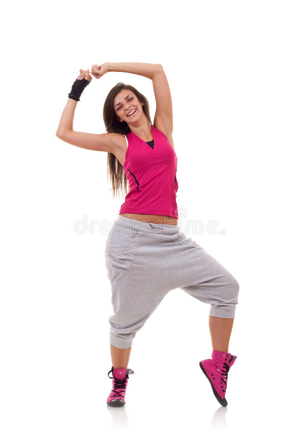 Dança do bailado moderno fotos de stock