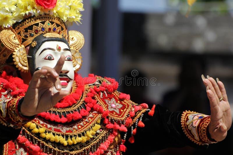 Dança do Balinese fotos de stock royalty free