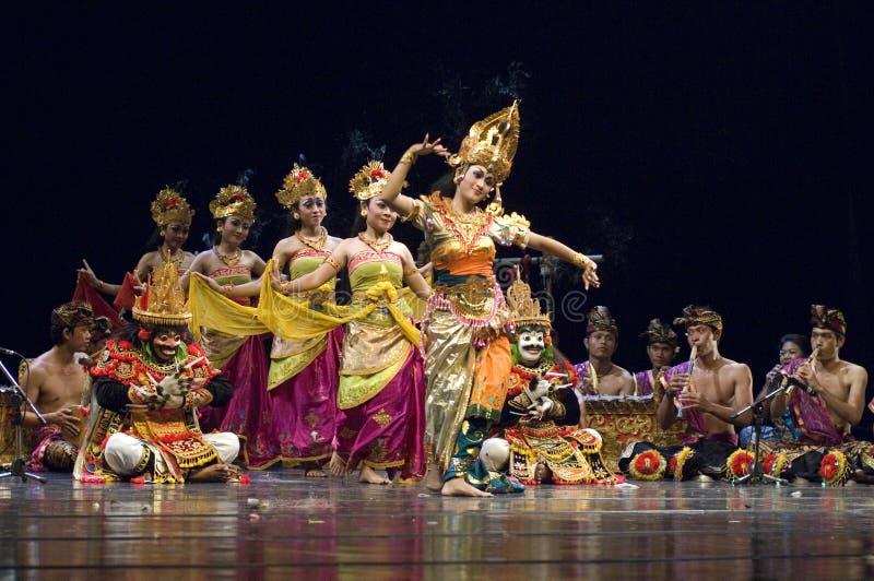 Dança do Balinese foto de stock royalty free