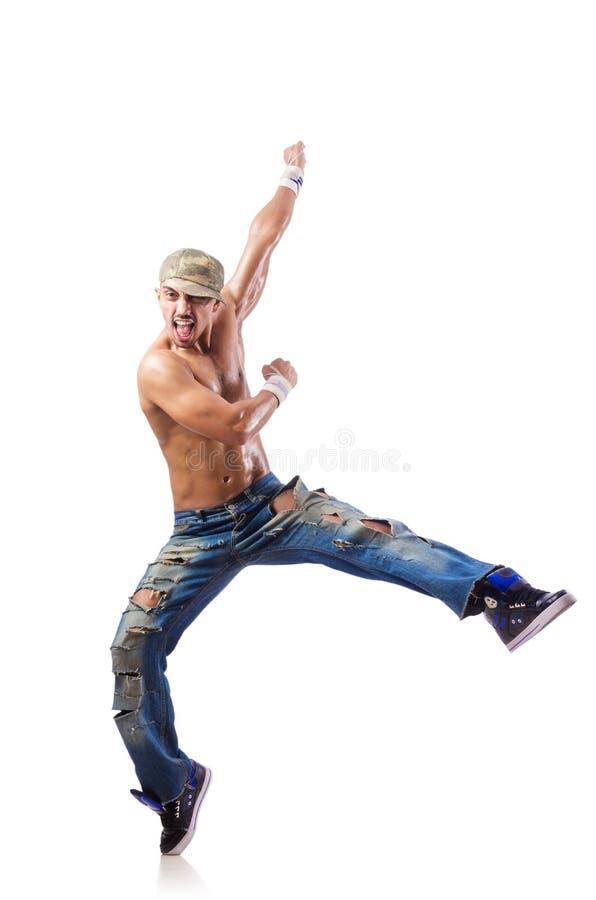 Dança do dançarino foto de stock