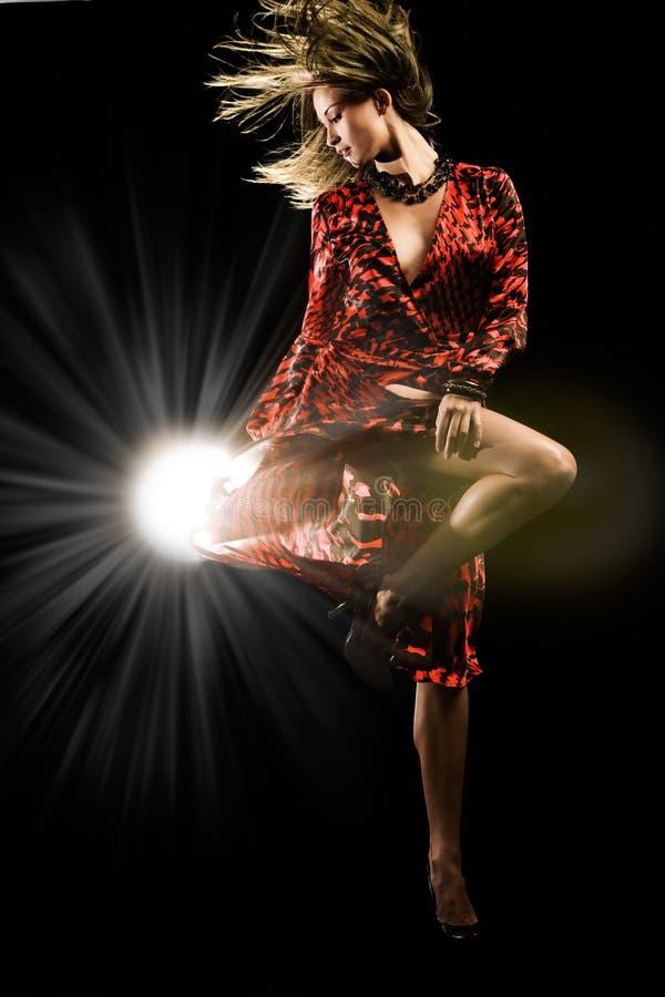 Dança do estúdio fotos de stock royalty free