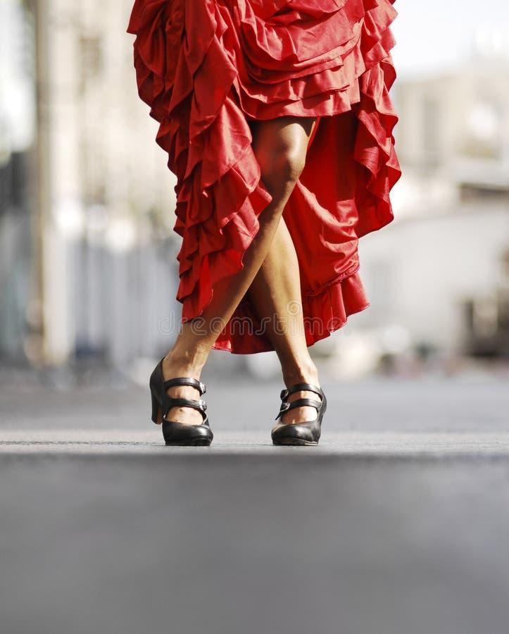 Dança do Flamenco imagens de stock royalty free