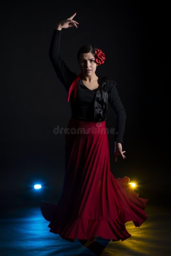 Dança do Flamenco foto de stock