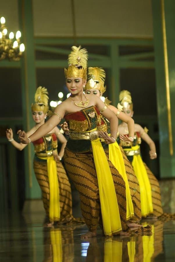 Dança do Javanese imagem de stock royalty free