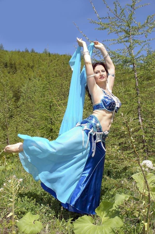 Dança do leste fotografia de stock royalty free