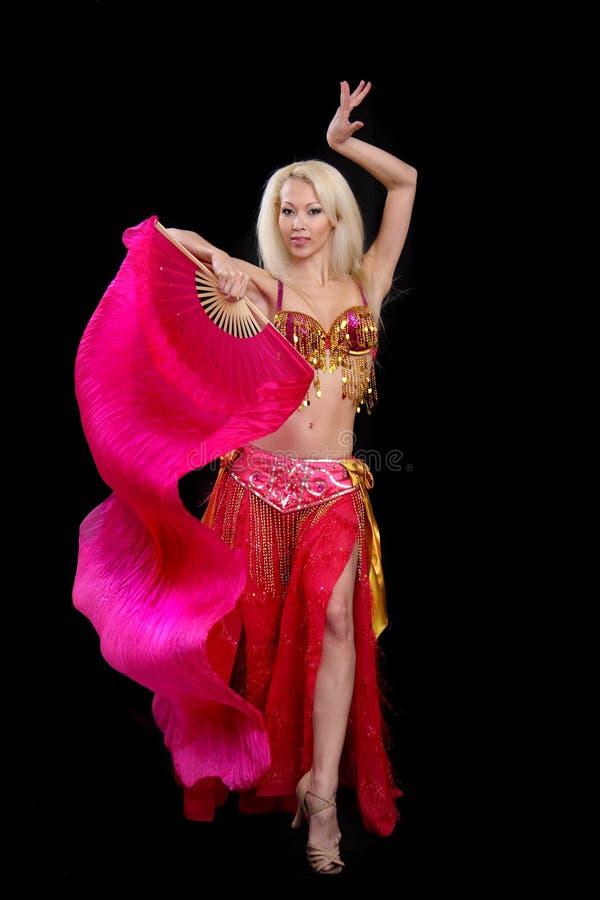 Dança do leste das danças da menina. fotos de stock