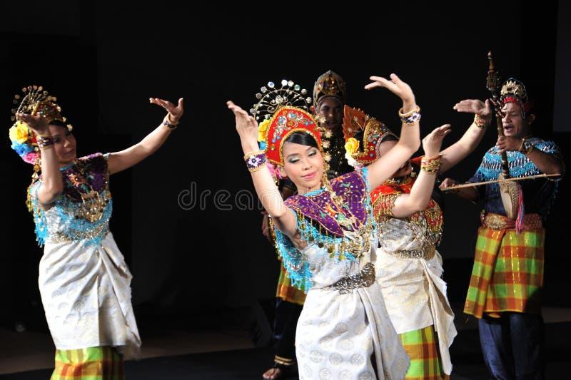 Dança do Mah Yong foto de stock royalty free