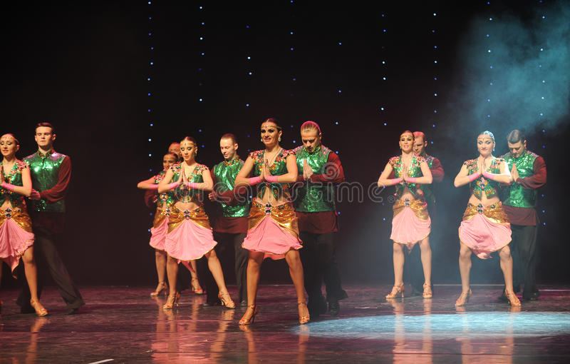 Dança do mundo de Áustria das memórias- da Shiva-Índia imagem de stock royalty free