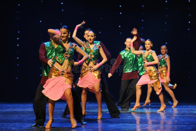 Dança do mundo de Áustria das memórias- da Shiva-Índia imagens de stock royalty free