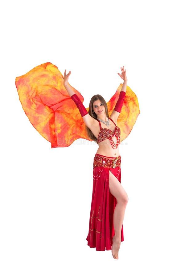 Dança do véu fotografia de stock
