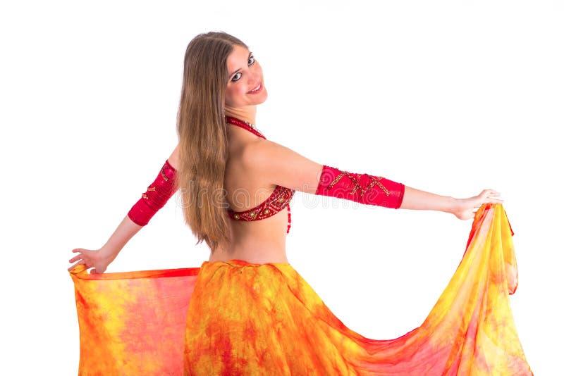 Dança do véu imagens de stock royalty free