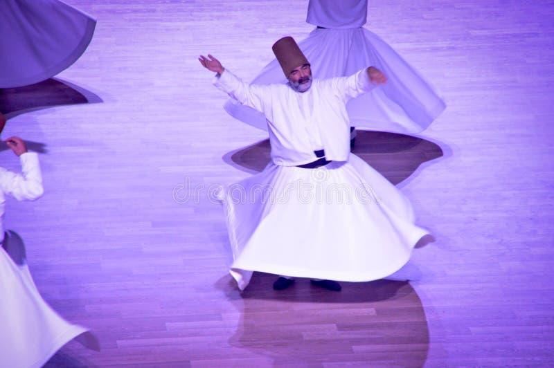 Dança dos dervixes de Mevlana imagens de stock royalty free