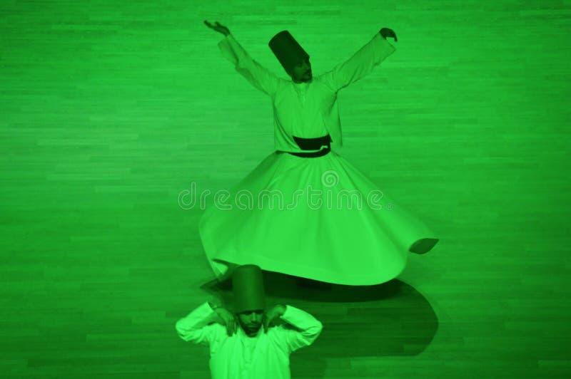Dança dos dervixes de Mevlana fotos de stock royalty free