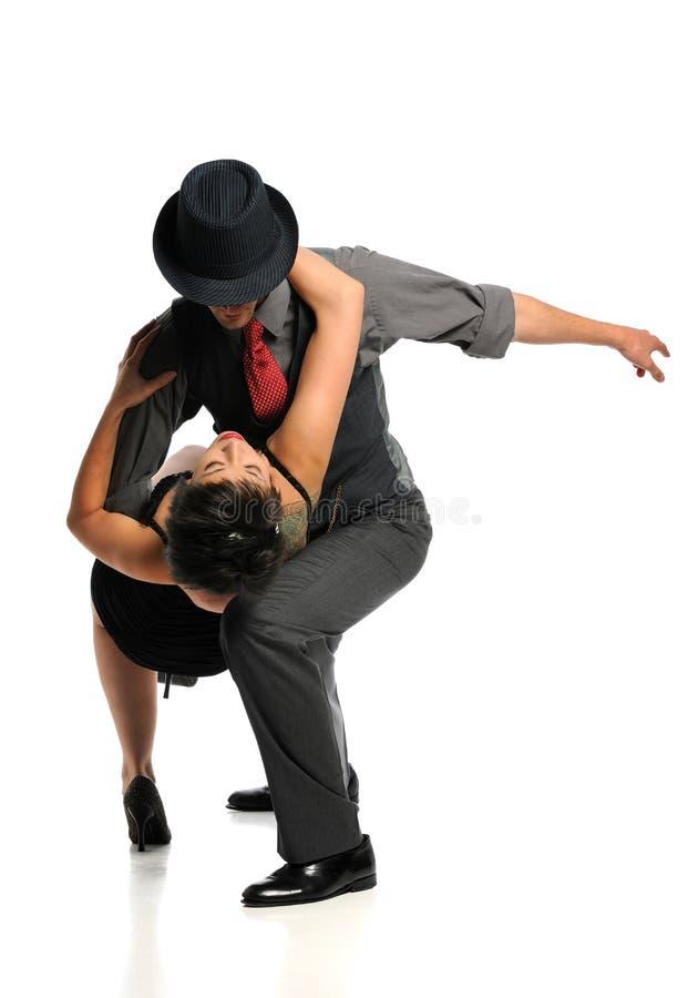 Dança dos pares imagens de stock