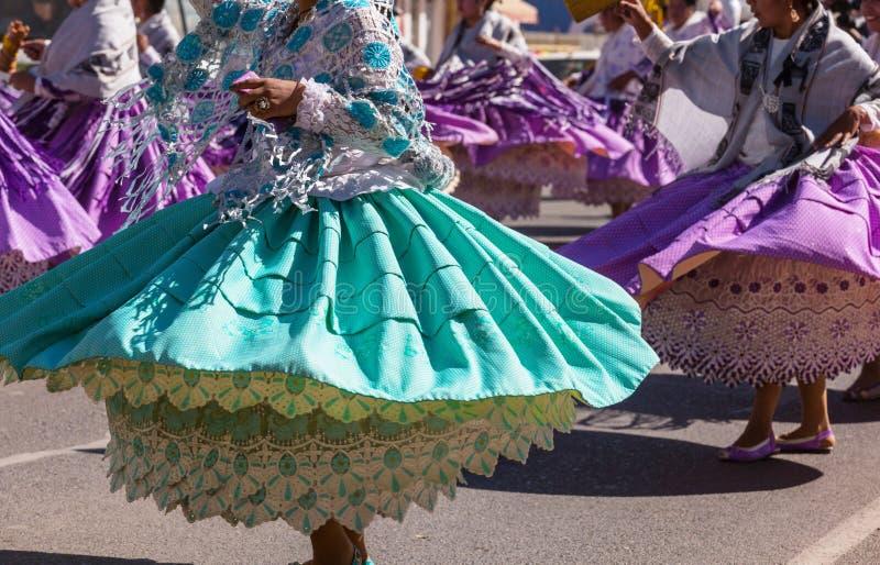 Dança dos Peruvian fotografia de stock royalty free