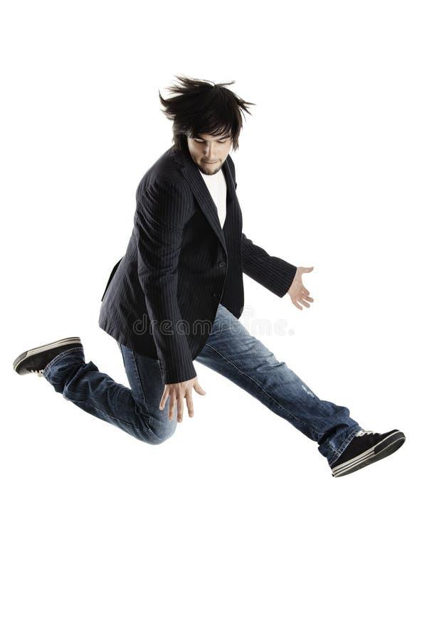 Dança e salto fotografia de stock