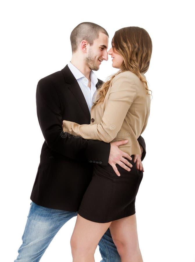 Dança e vista dos pares fotos de stock