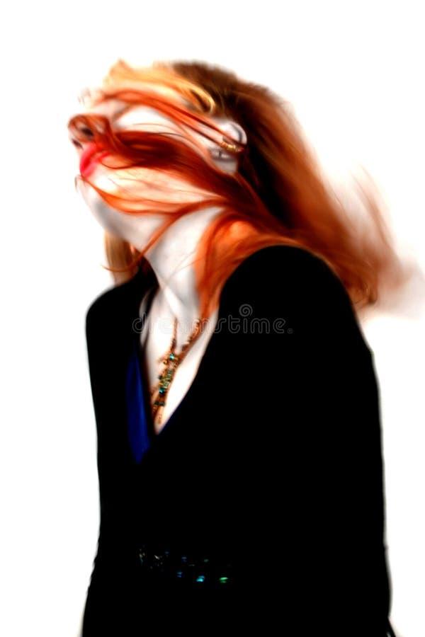 Dança Ghostly ilustração royalty free