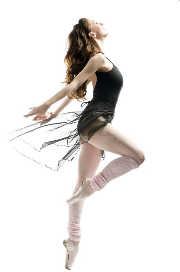 Dança graciosa imagens de stock