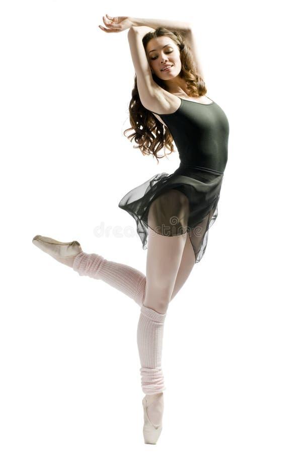 Dança graciosa fotografia de stock royalty free