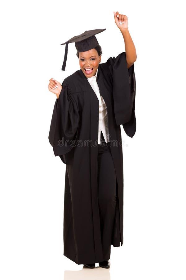 Dança graduada da universidade fotografia de stock