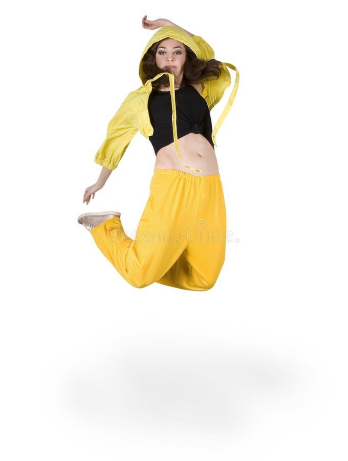 Dança hip-hop do adolescente fotos de stock royalty free