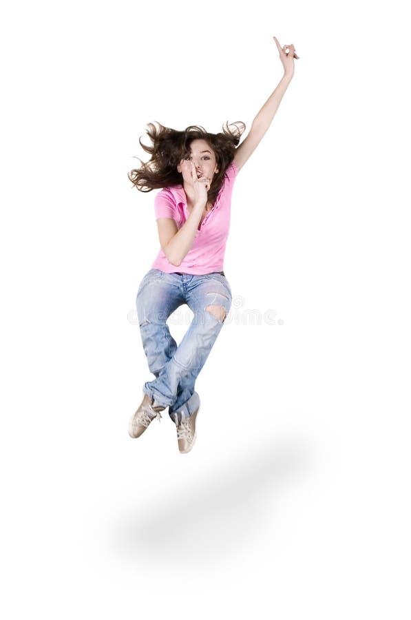 Dança hip-hop do adolescente imagens de stock
