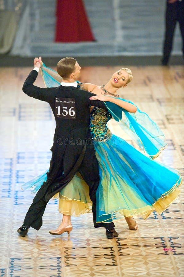 Dança internacional Masters2010 da competição, Bucareste fotos de stock royalty free