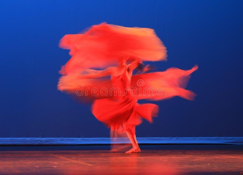 A dança moderna do chinês imagem de stock