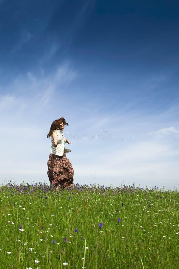 Dança na natureza fotos de stock royalty free