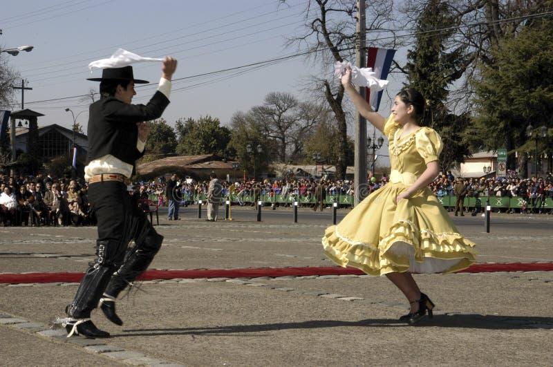 Dança nacional chilena foto de stock royalty free