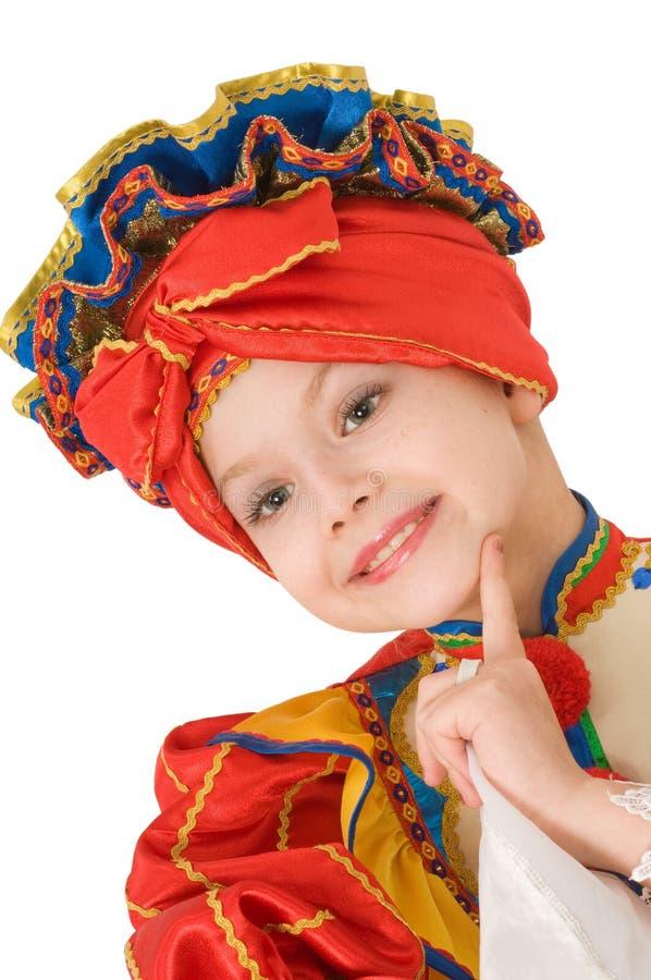 Dança nacional do russo. imagens de stock