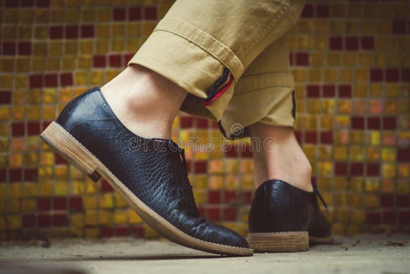 Dança nas sapatas elegantes novas fotografia de stock royalty free