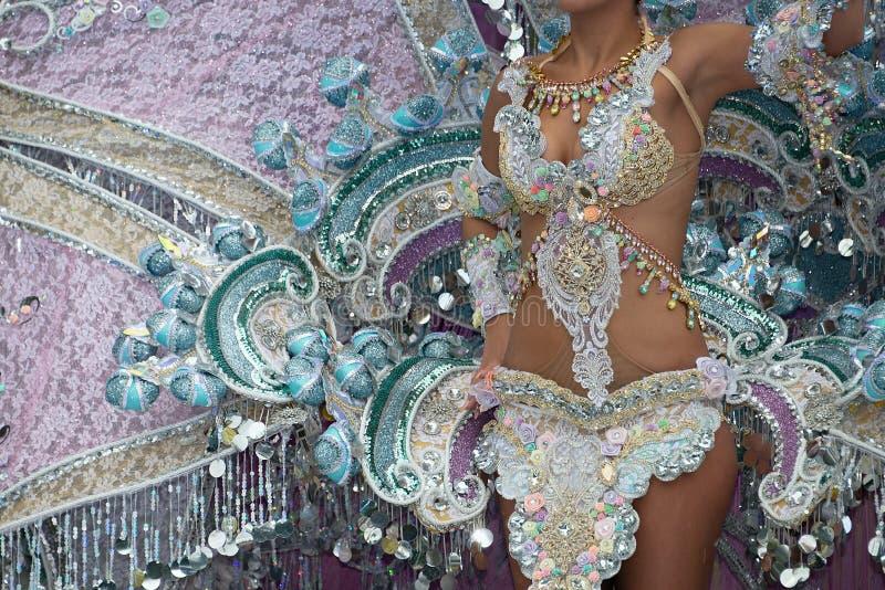 Dança no carnaval foto de stock royalty free