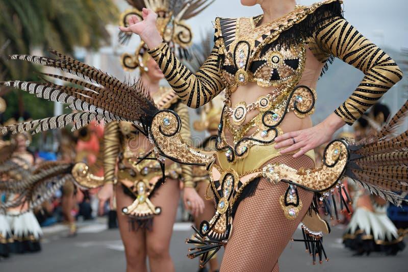 Dança no carnaval fotografia de stock royalty free