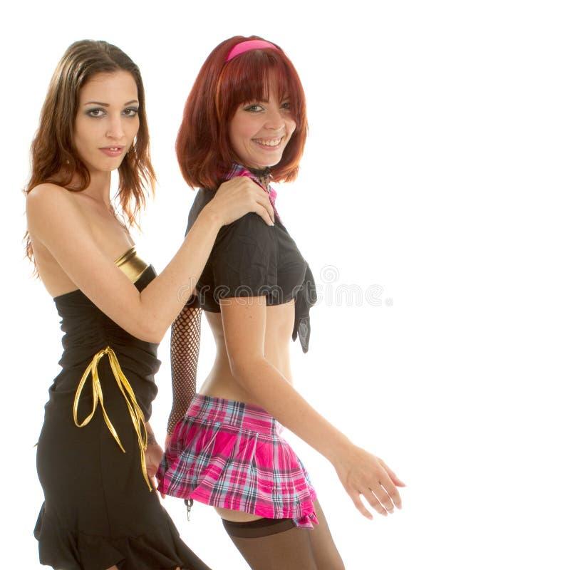 Dança nova de dois modelos imagem de stock royalty free