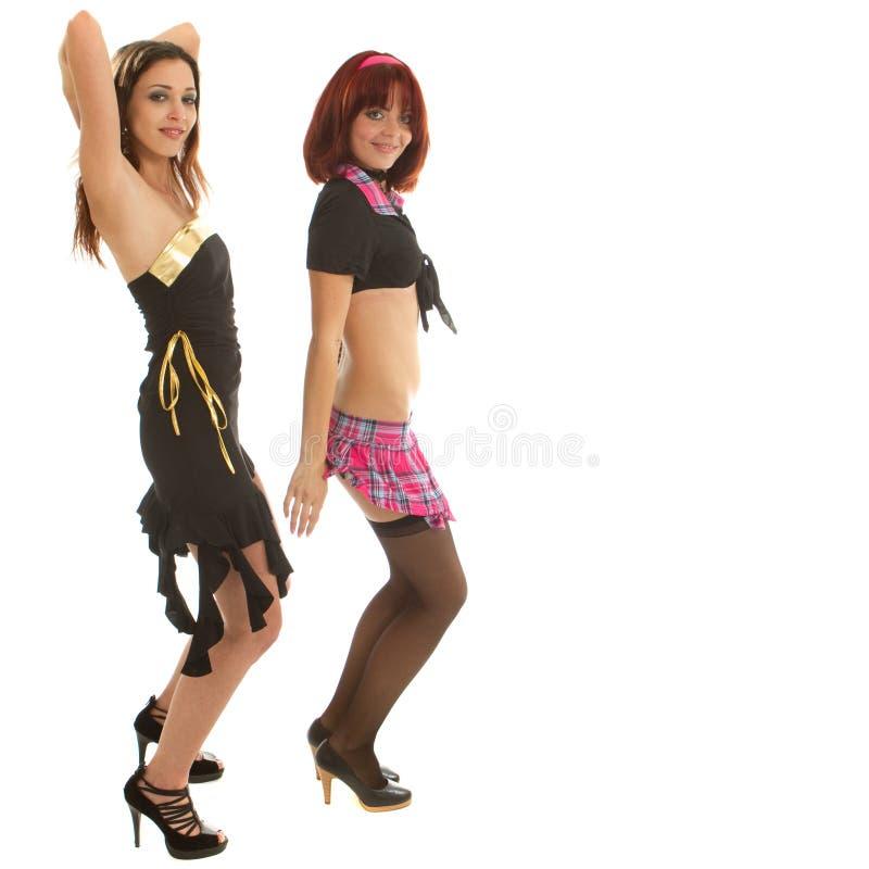 Dança nova de dois modelos imagens de stock royalty free