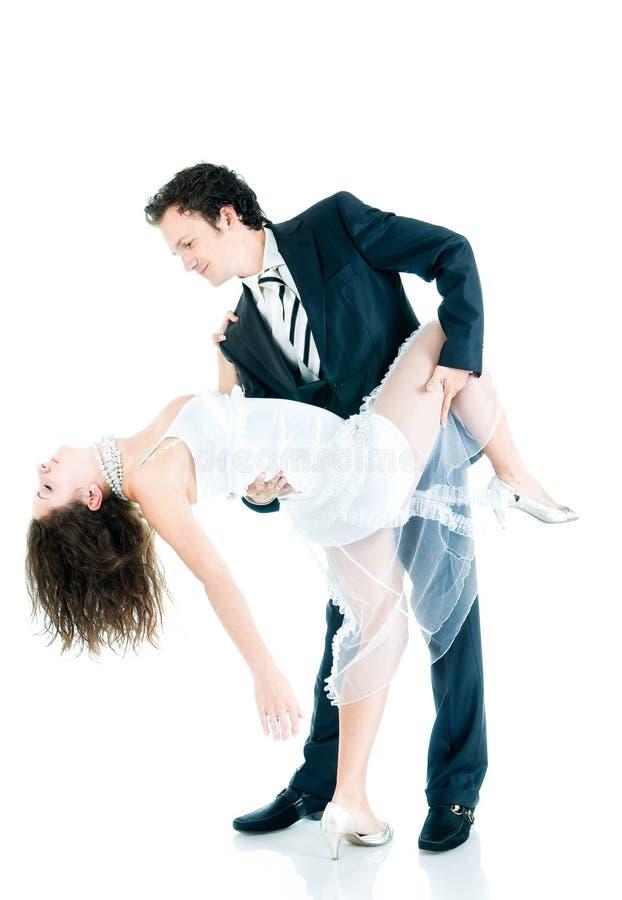 Dança nova dos pares fotografia de stock royalty free