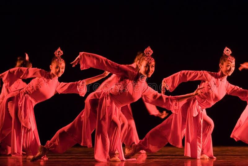 Dança popular chinesa fotografia de stock royalty free