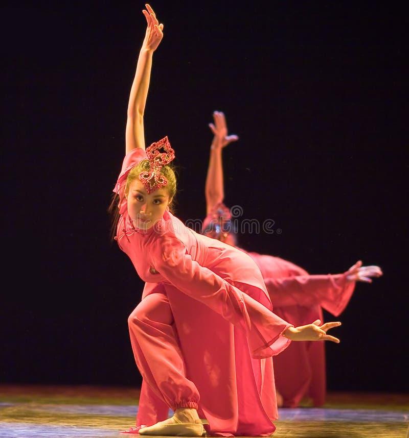 Dança popular chinesa fotos de stock