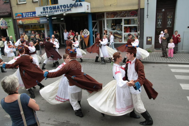 Dança popular tradicional fotos de stock