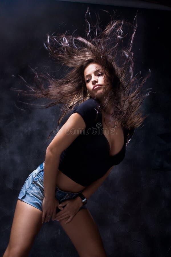 Dança quente foto de stock